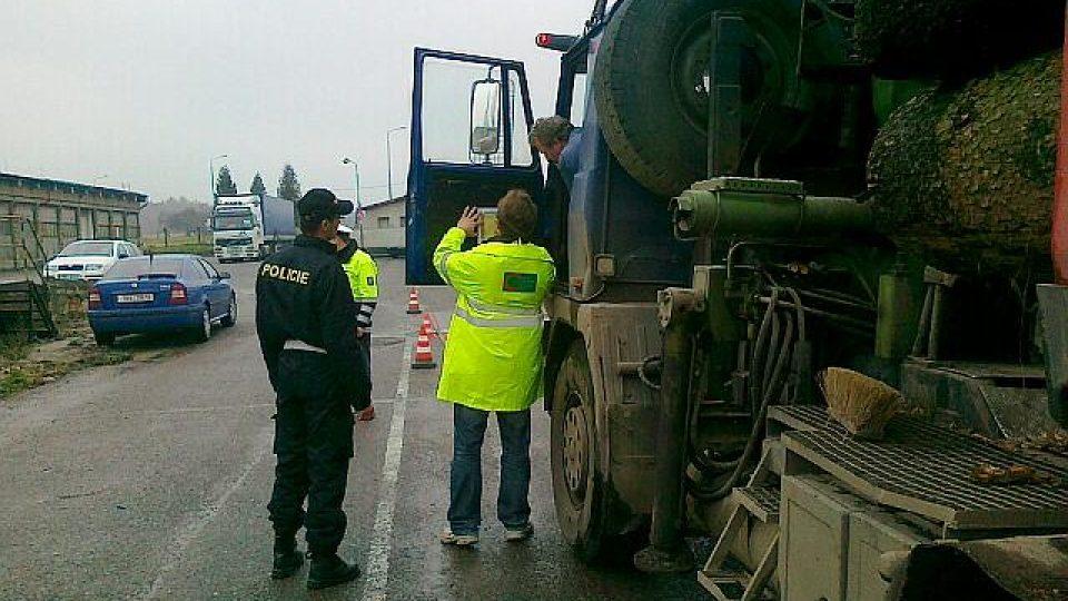 Kontrola kamionové dopravy