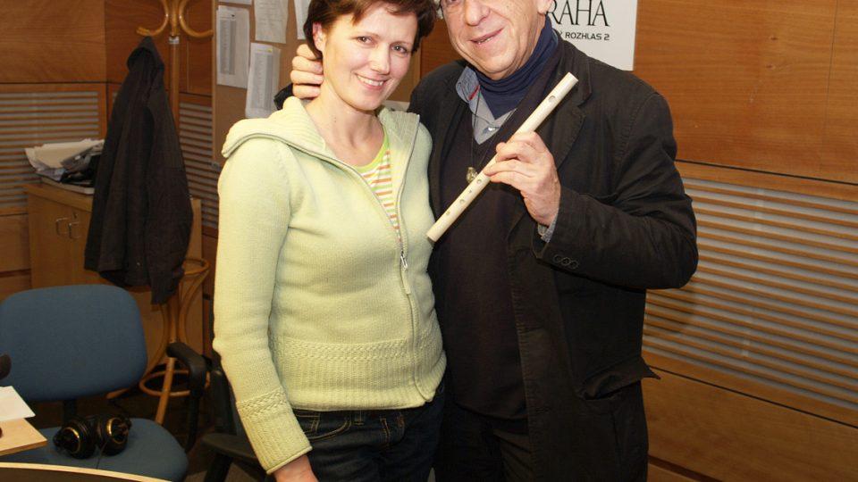 Jiří Stivín a Zuzana Burešová