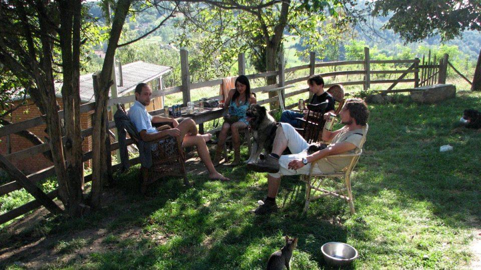 Veškerou komunikaci jsem omezil pouze na své přátele, říká majitel kozí farmy v Rudniku Nikola Banković