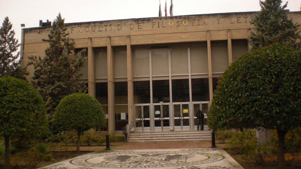 Budova Filozofické fakulty univerzity v Granadě