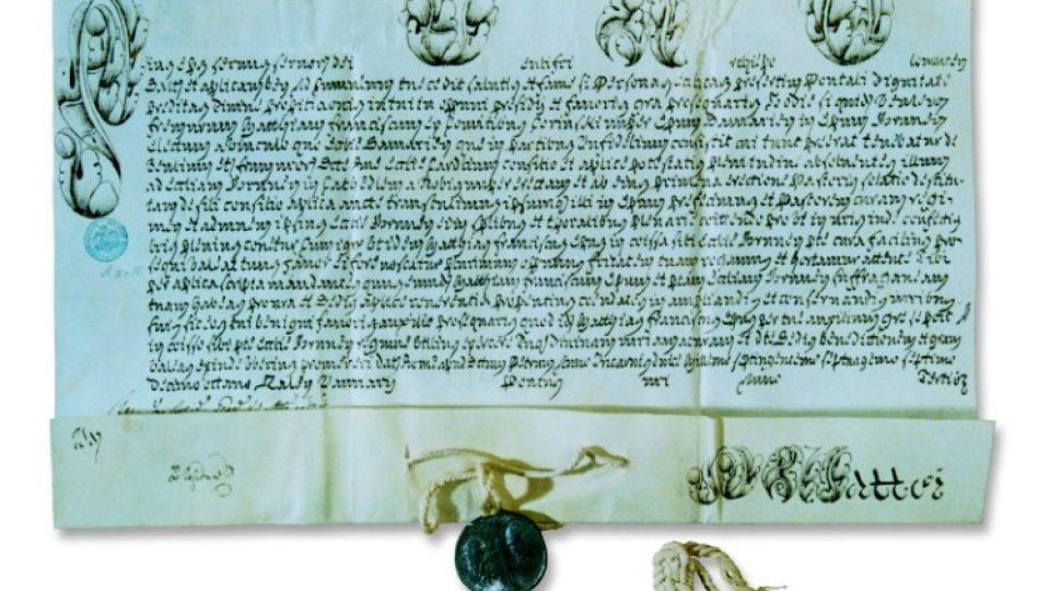 Brněnské biskupství nechal zřídit papež Pius VI. bulou z roku 1777