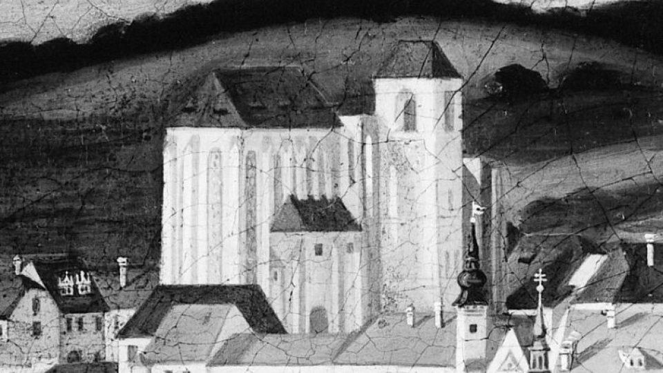 Takto vypadala katedrála sv. Petra a Pavla na Petrově koncem 17. století