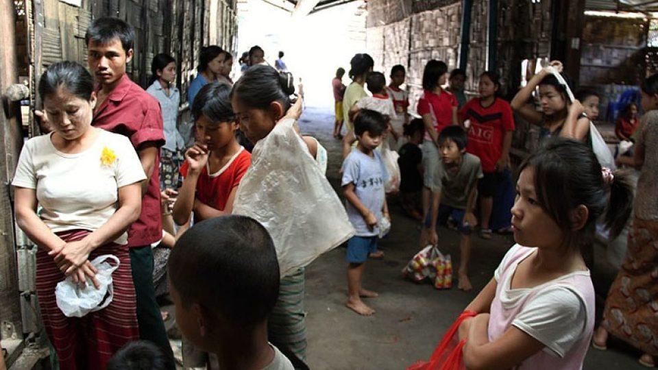 Mnoho z barmských uprchlíků doufá v azyl ve Spojených státech