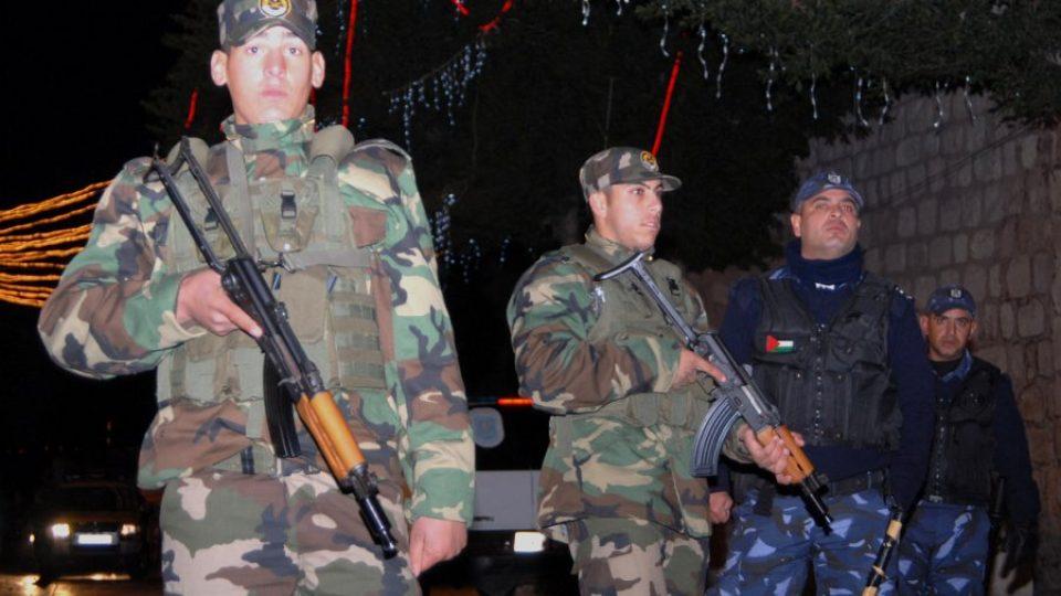 Nad bezpečností Vánoc dohlížejí stovky palestinských policistů