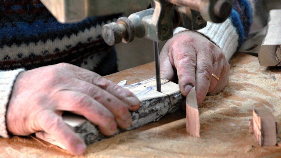 V Betlémě se betlémy vyrábějí z olivového dřeva