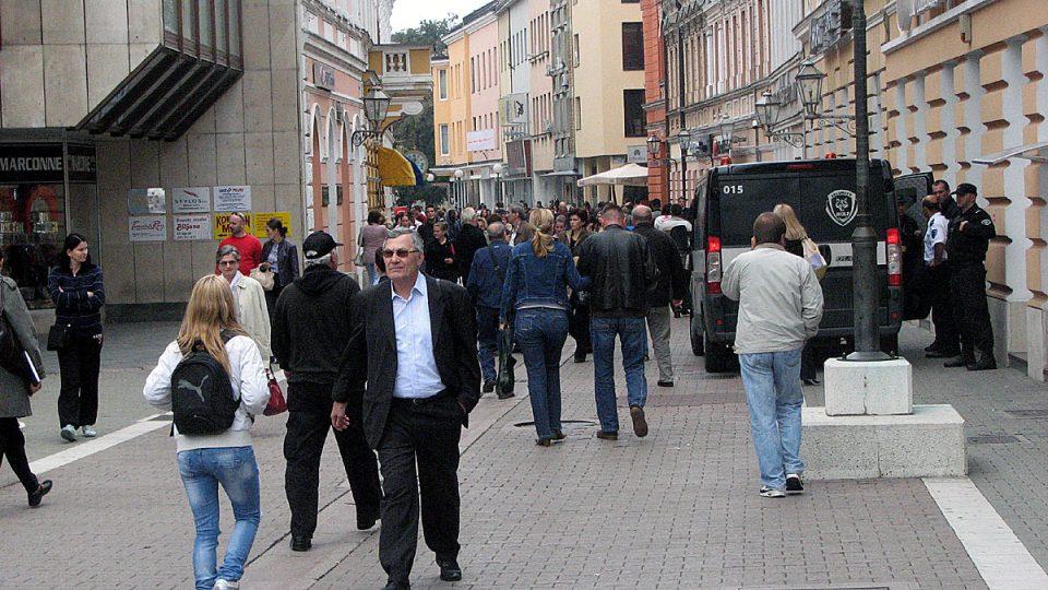 Život v ulicích Sarajeva
