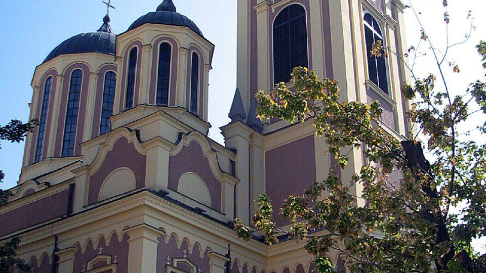 Katolický kostel v Sarajevu