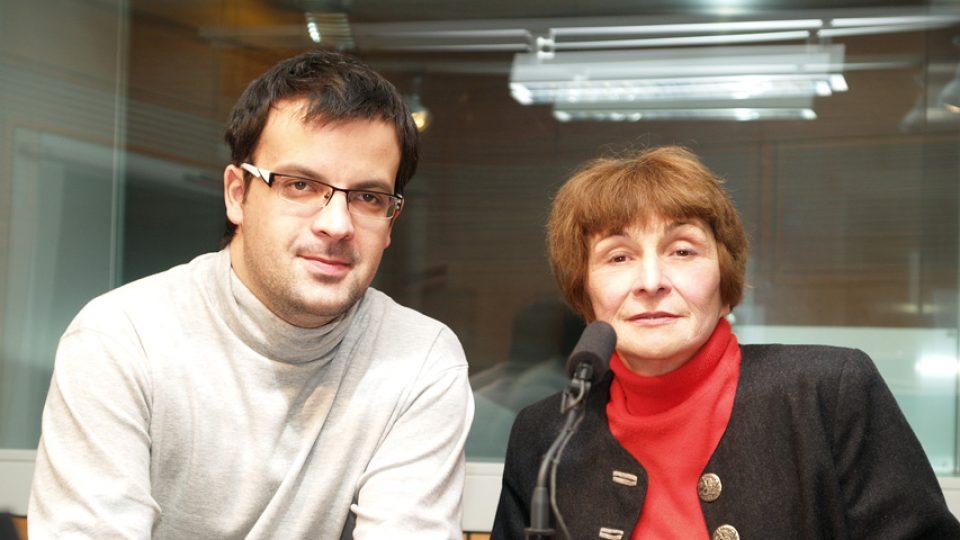 Olga Walló a Tomáš Voženílek