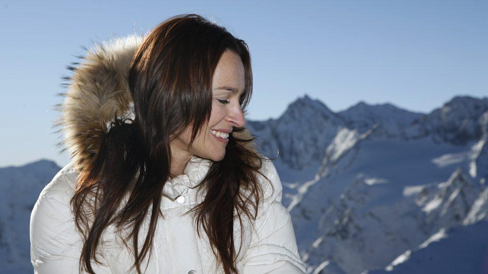 Lucie Výborná má ráda hory