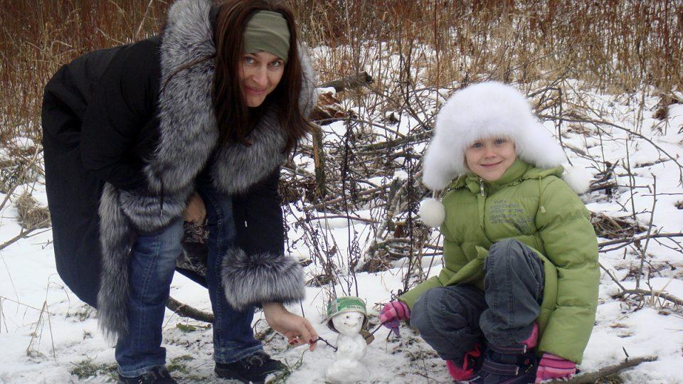 Lucie Výborná s dcerou Vanessou