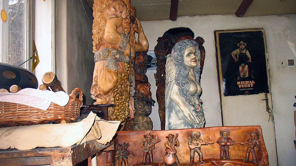 Keltské bohyně z dílny Tomáše Motky