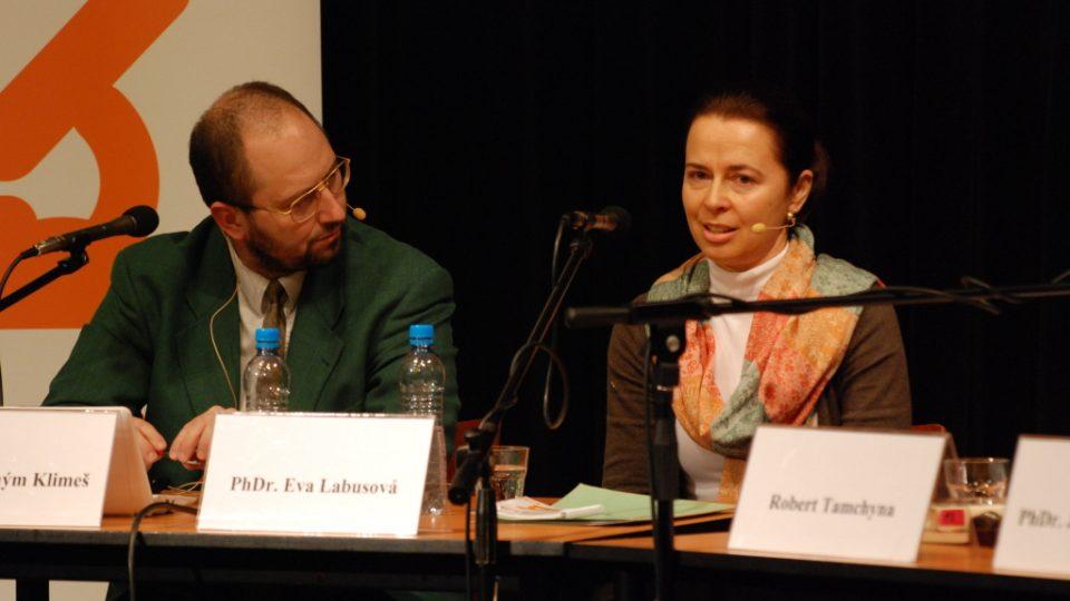 PhDr. Eva Labusová a PhDr. Jeroným Klimeš