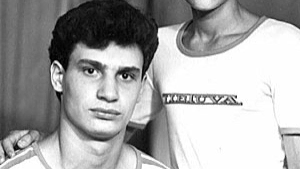 Vitalij Kličko se svým mladším bratrem
