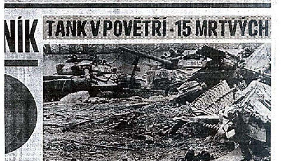 O události v Bohosudově se psalo v místním tisku. Televizní záběry se ještě v den tragédie dostaly i do zahraničních stanic