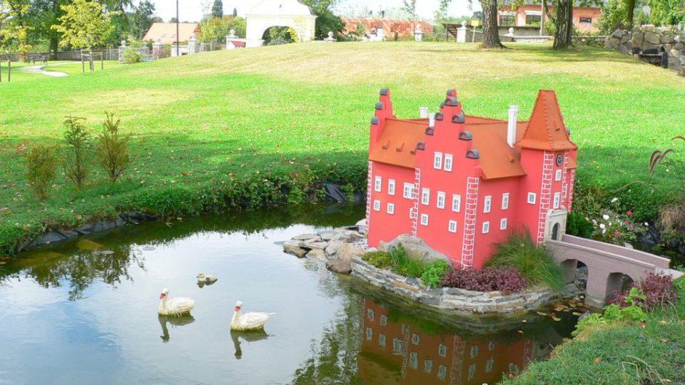 Zámecký park - model - Červená Lhota I
