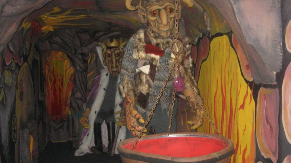 Zámek Berchtold - peklo