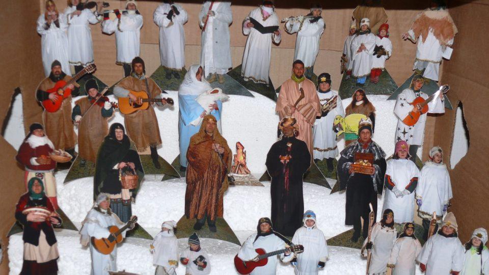 Muzeum papírových betlémů Zábrdí u Husince