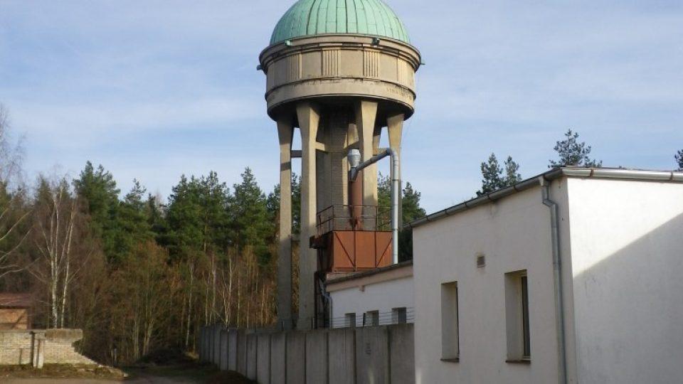 Budova vodárny v Lázních Bohdaneč od Josefa Gočára