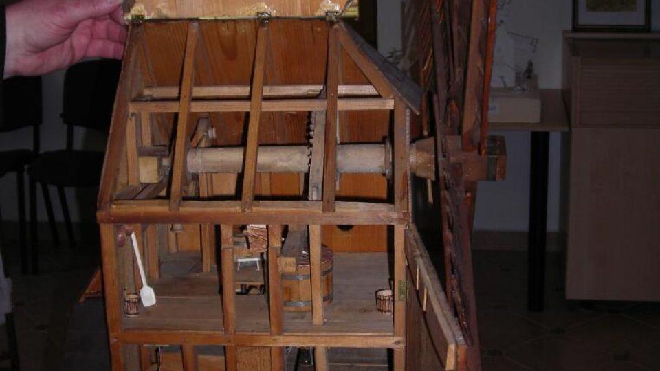 Funkční model původního borovnického mlýna
