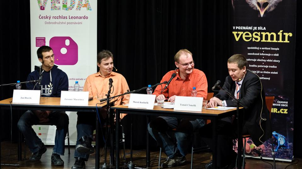 Elektromobily a elektromobility, hosté: Jan Horčík, Jaromír Marušinec, Tomáš Chmelík, moderátor Marek Kuchařík