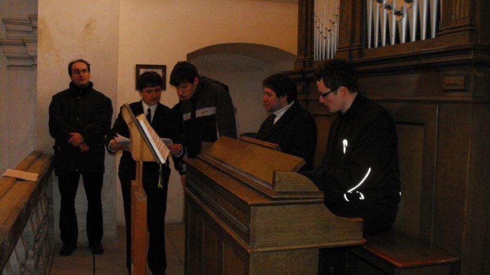 Kostel sv. Markéty v Podlažicích a nástroj firmy Rieger