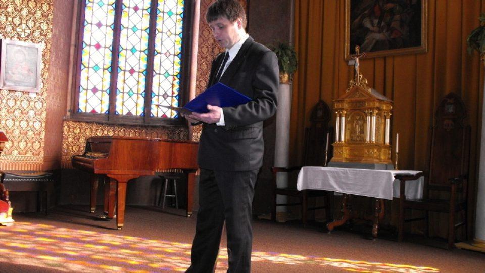 Varhaník Miroslav Pošvář představil na každém zastavení varhaního maratónu nástroj