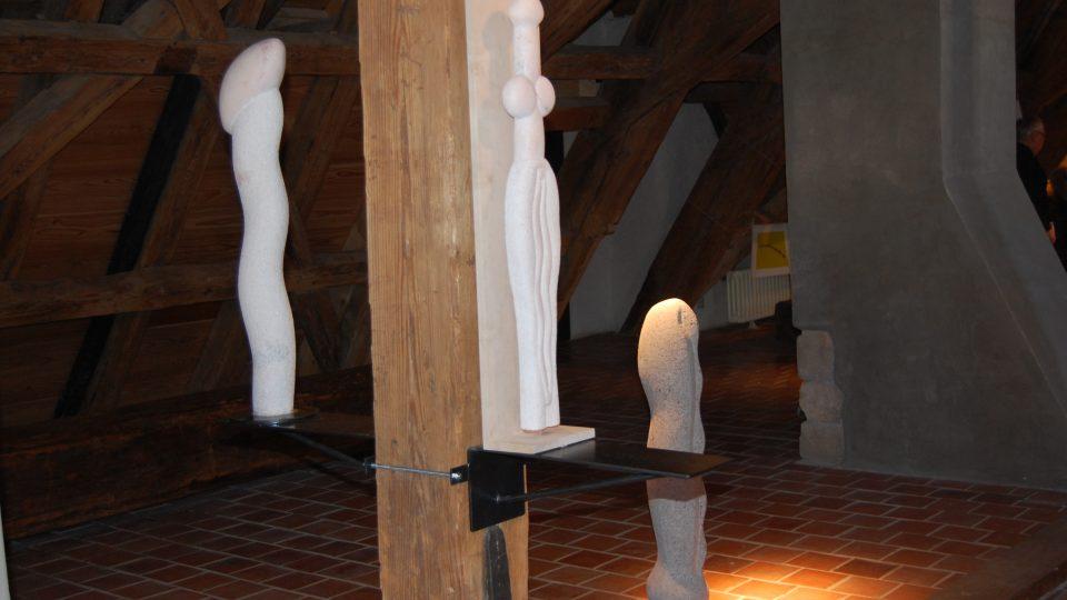 Jiří Plieštik: Idol z ticha (Galerie Malostranská beseda)