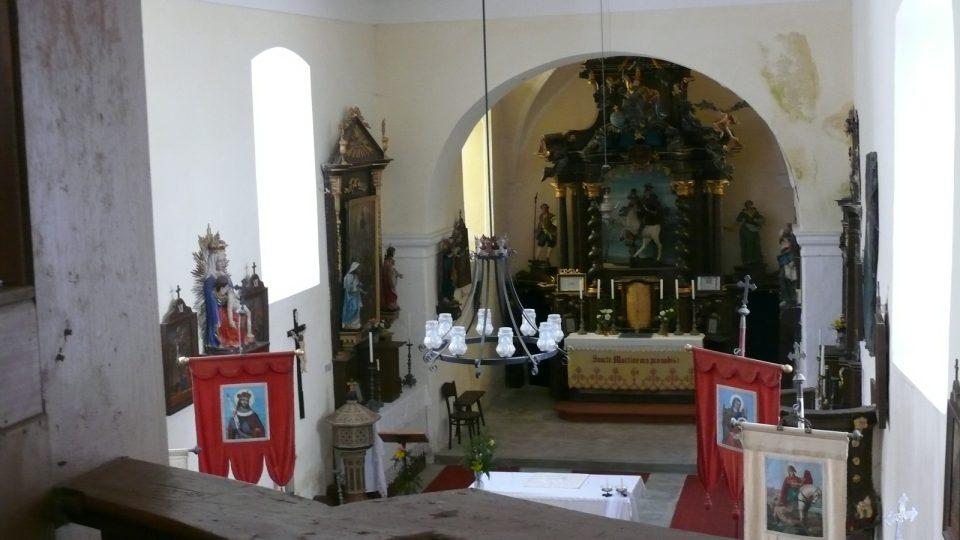 Kostel sv. Martina Nicov II.