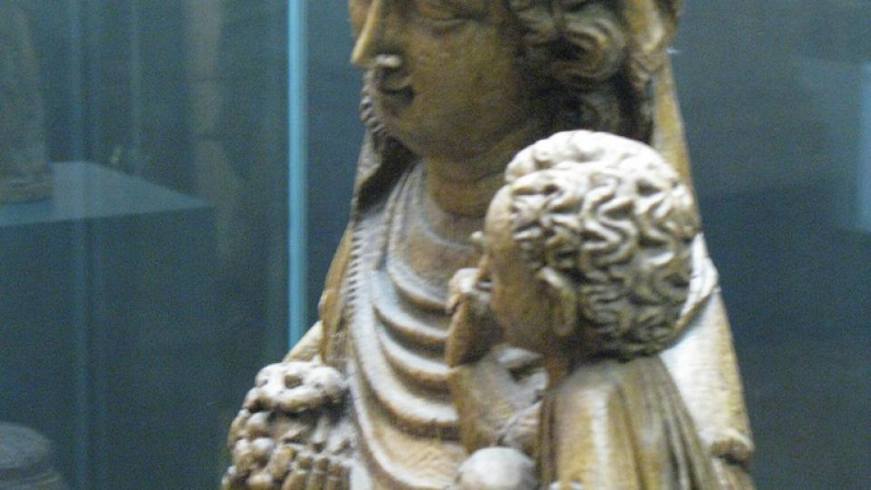 Madonna na lvu z Klosterneuburgu