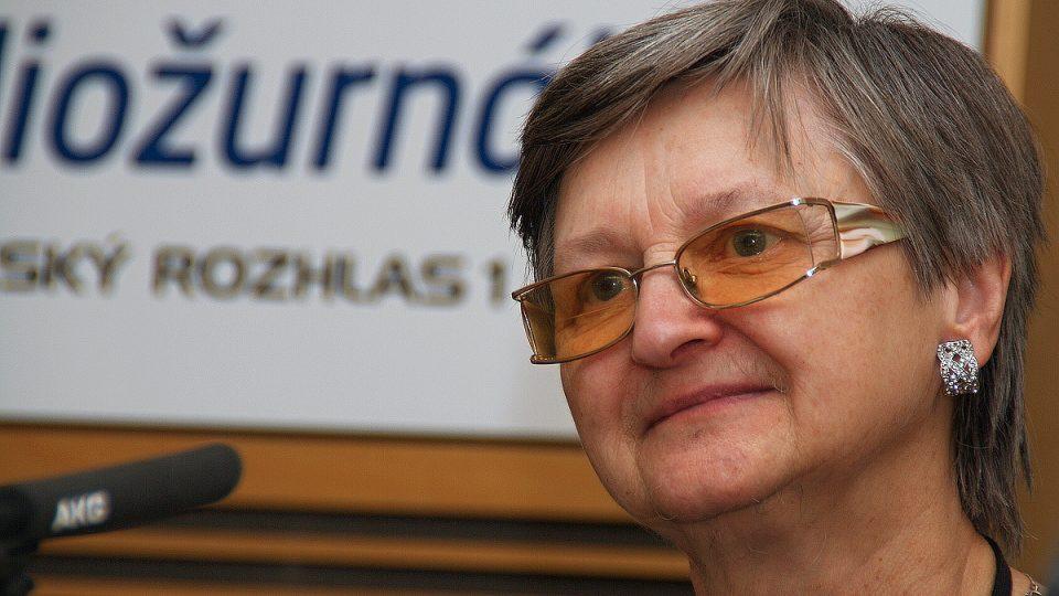 Marie Svatošová, zakladatelka hospiců v Česku