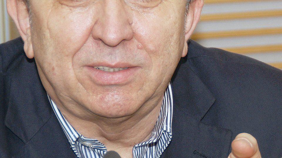 Fero Fenič ve vysílání Hosta Radiožurnálu