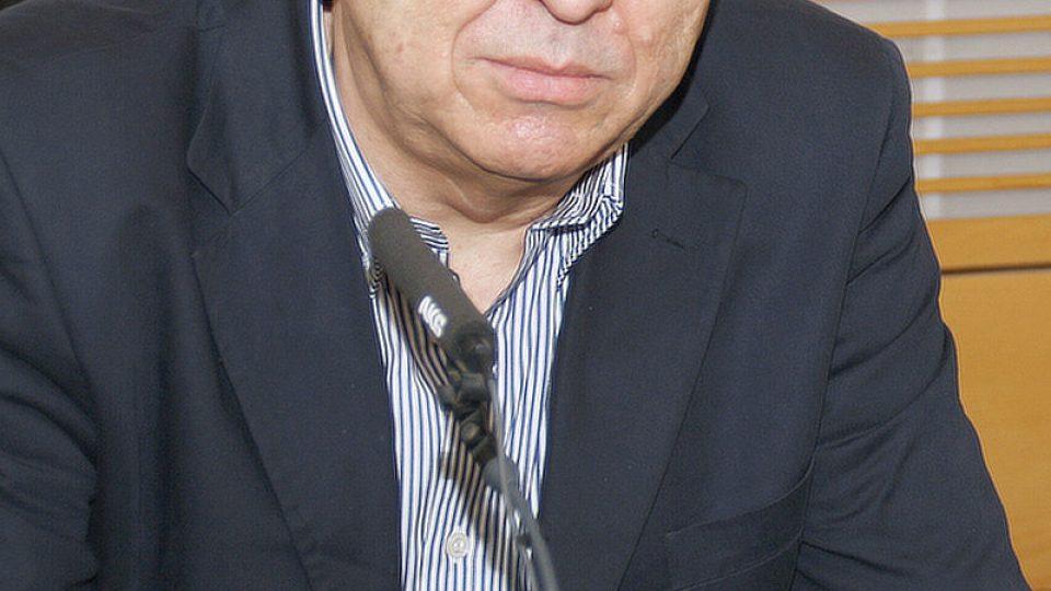 Fero Fenič u mikrofonu