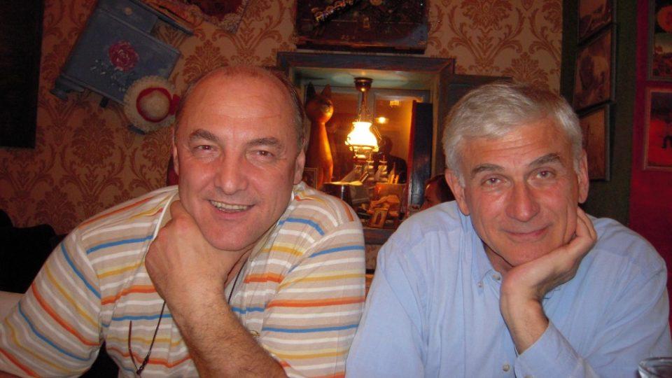 MUDr. Edib Jaganjac s Janem Urbanem