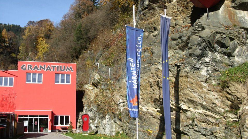 Granátové doly v rakouském Radentheinu dnes slouží jako muzeum