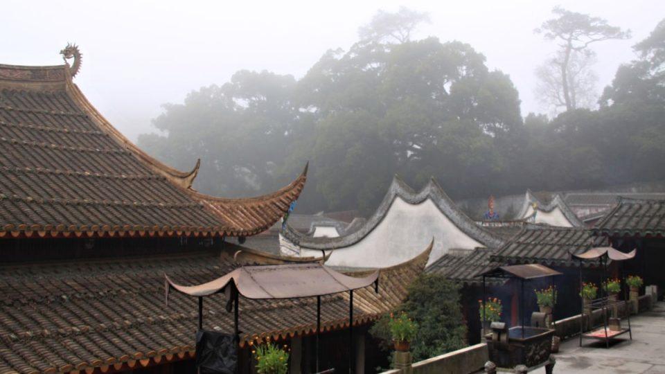Více než tisíc let starý klášter Jung-čchüan v čínské provincii Fu-ťien ukrývá vzácnou knihovní sbírku