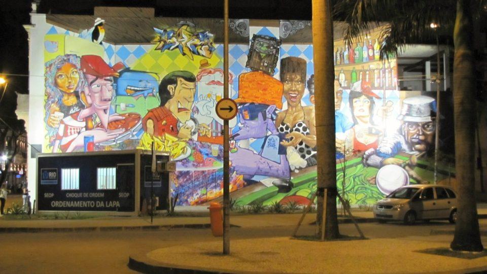 V Lapě se setkávají nejrůznější směry moderní brazilské kultury