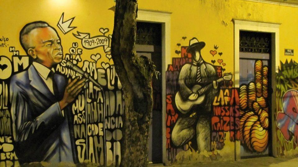 Ulice Joaquim Silva je srdcem bohémské čtvrti Lapa