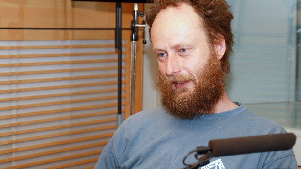 Ivo Dokoupil byl hostem Radiožurnálu