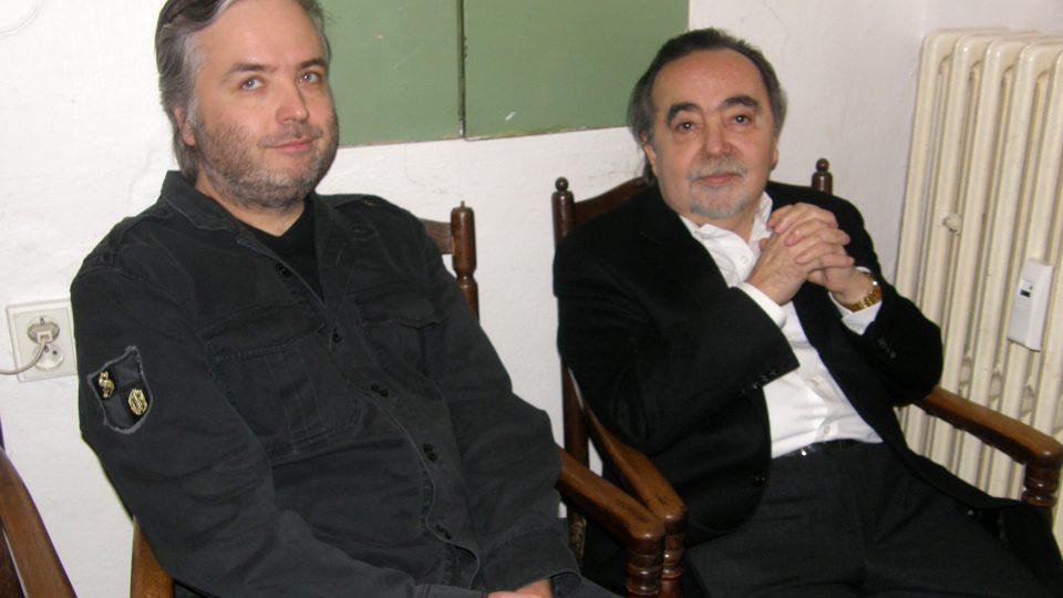 Ondřej Kepka a Dušan Klein