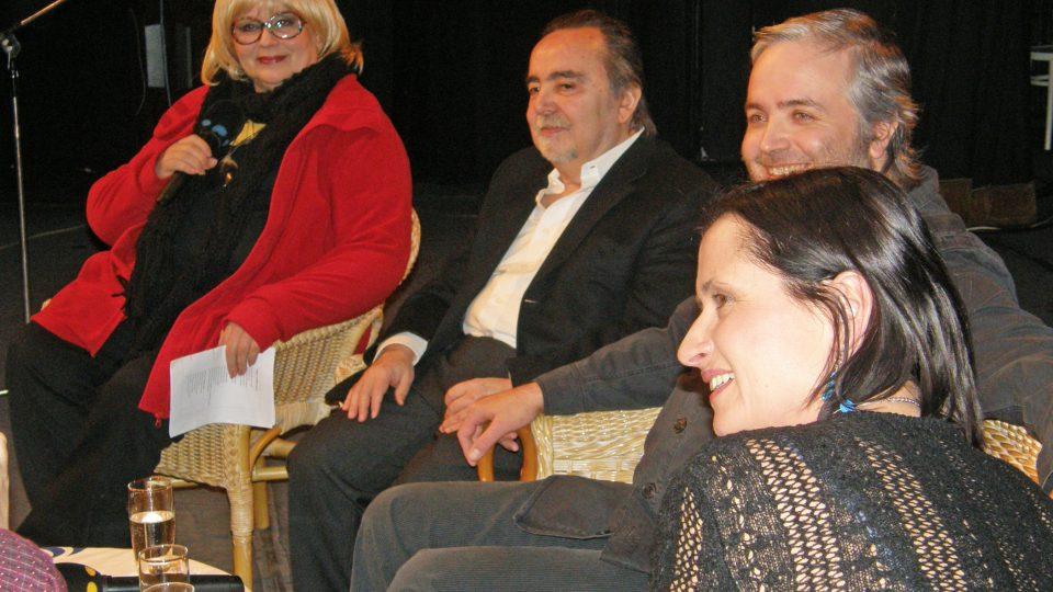 Naďa Urbánková, Dušan Klein, Ondřej Kepka a Dana Černá