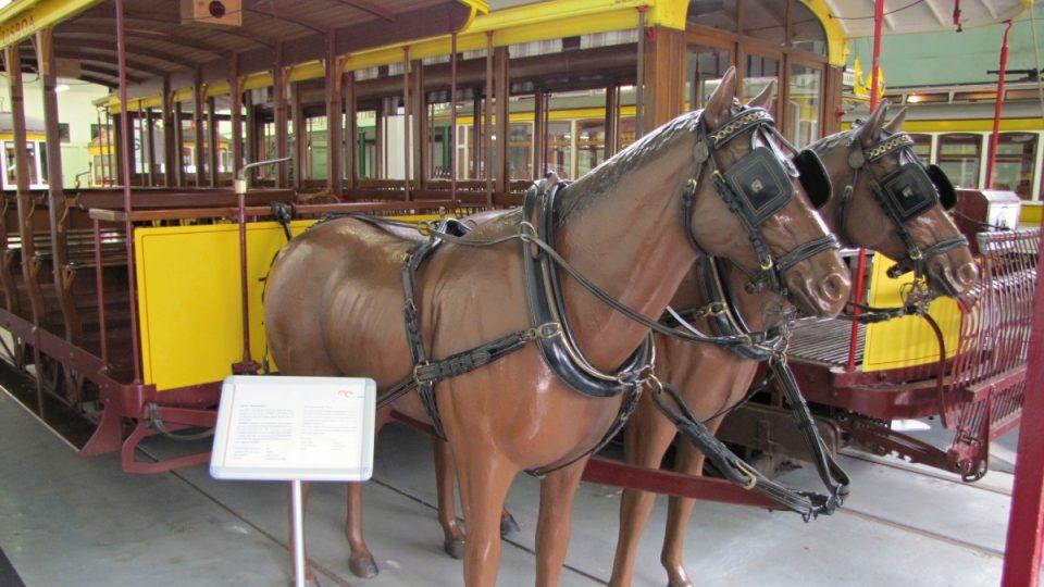"""V Lisabonu původně tahali vozy městské dopravy koně. Vozům se říkalo """"Američani"""""""