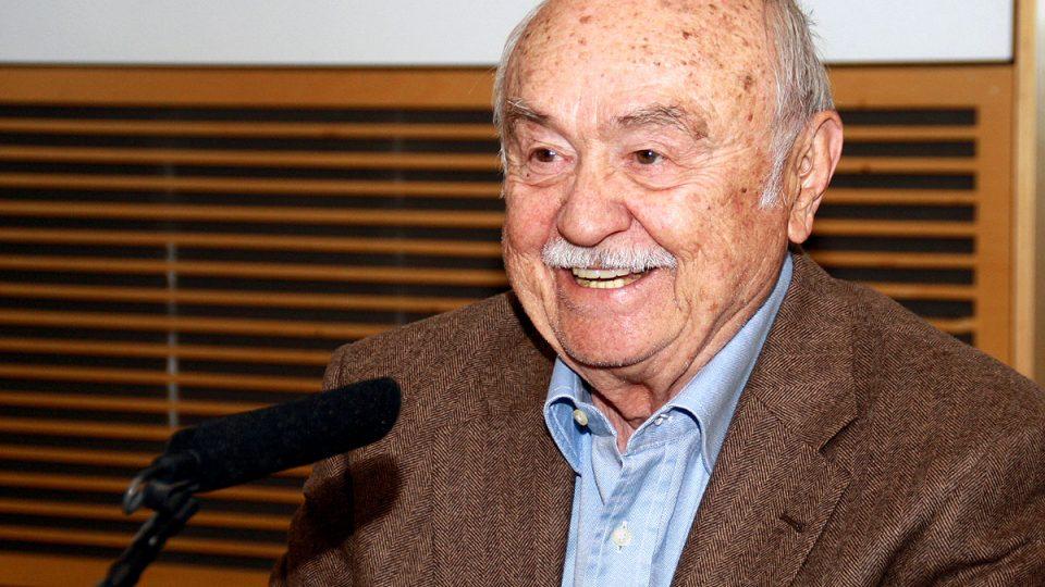 Nestor Rádia Svobodná Evropa Tibor Molek na konkurz v Rádiu Svobodná Evropa