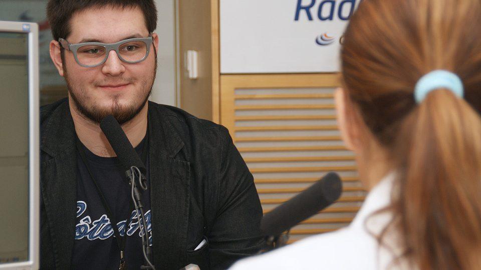 Josef Průša s Lucií Výbornou