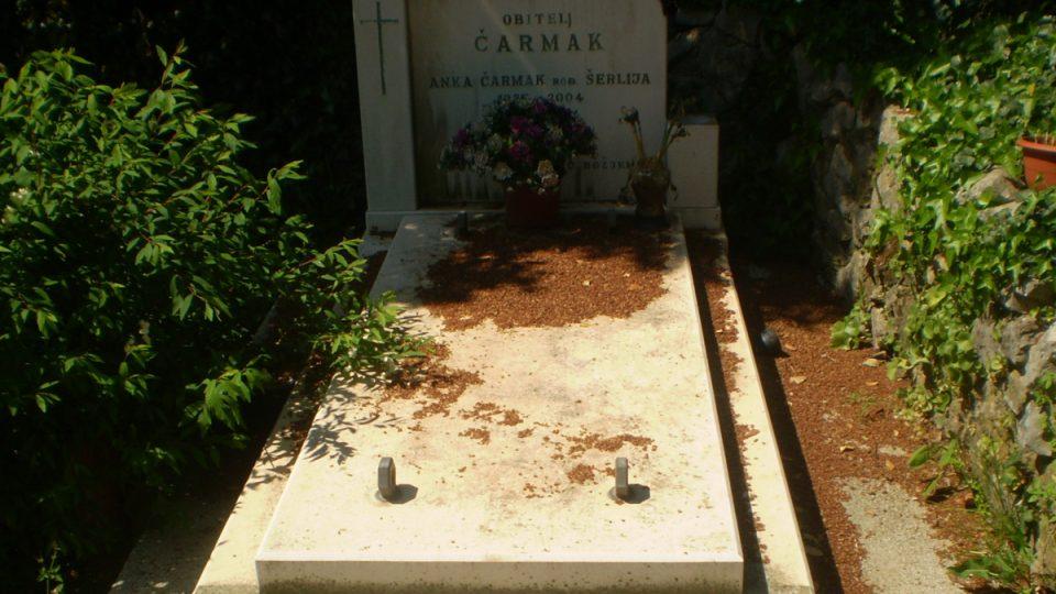 U osady Mali Voz je malý hřbitov. Jsou na něm pochovaní také Nikšovi předkové