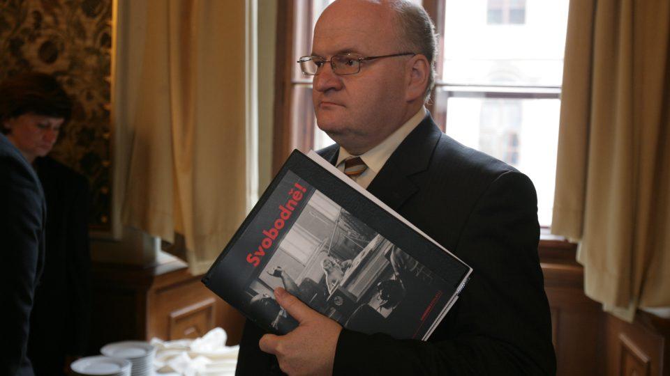 Daniel Herman - ředitel Ústavu pro studium totalitních režimů