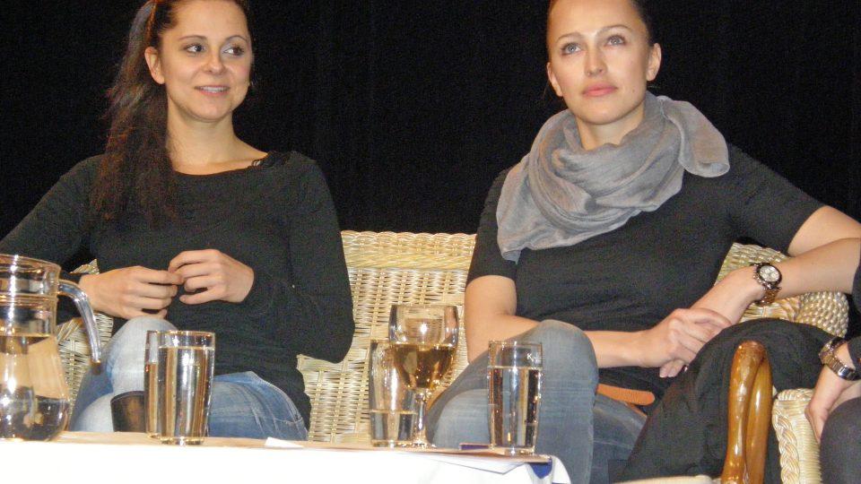 Laďka Něrgešová a Renata Langmannová