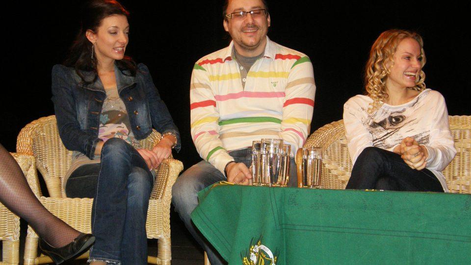 tři zástupci kategorie muzikál - Dasha, Marián Vojtko a Johana Gazdíková