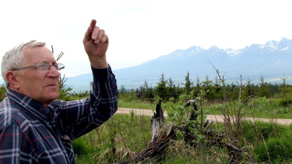 Martin Pitoňák, rodák z dnes už zaniklé obce Ruskinovce v pohoří Levočské vrchy. Na Němce si pamatuje z dětství, hlavně na to, jak plakali, když museli po staletích nedobrovolně odejít ze Spiše v roce 1945