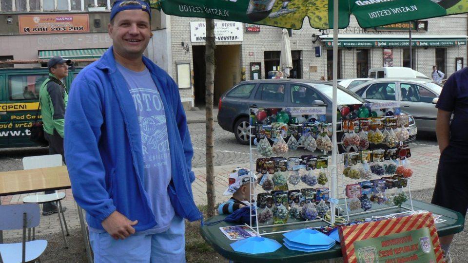 Zlatá kulička v Rakovníku - Miroslav Tlustý, čtyřnásobný mistr ČR v kuličkách