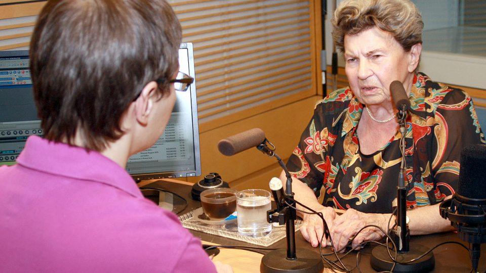 Moderátor Tomáš Pancíř s psycholožkou Jiřinou Prekopovou